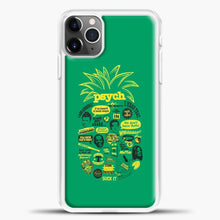Load image into Gallery viewer, Psych Quotes Shawn iPhone 11 Pro Max Case, White Plastic Case | casedilegna.com