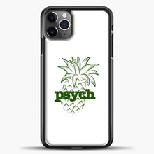 Load image into Gallery viewer, Psych White Background iPhone 11 Pro Max Case, Black Plastic Case | casedilegna.com