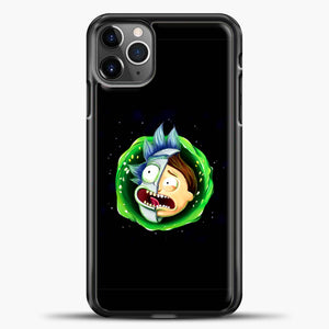 Rick And Morty Face Half iPhone 11 Pro Max Case