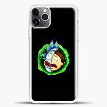 Load image into Gallery viewer, Rick And Morty Face Half iPhone 11 Pro Max Case