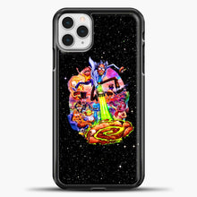 Load image into Gallery viewer, Rick And Morty Galaxy Black iPhone 11 Pro Case