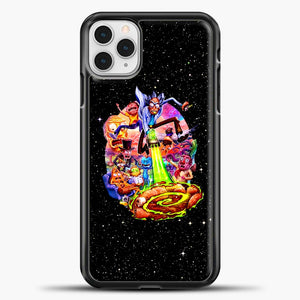 Rick And Morty Galaxy Black iPhone 11 Pro Case