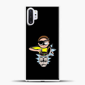 Rick And Morty Head Black Samsung Galaxy Note 10 Plus Case