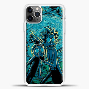 Rick And Morty Impressionist Science iPhone 11 Pro Max Case