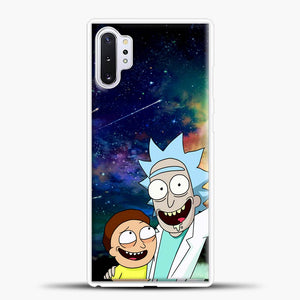 Rick And Morty In The Space Samsung Galaxy Note 10 Plus Case