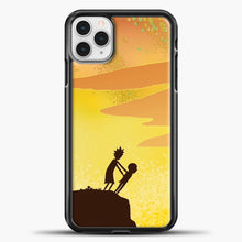 Load image into Gallery viewer, Rick And Morty Orange Skey iPhone 11 Pro Case, Black Plastic Case | casedilegna.com