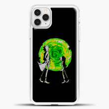 Load image into Gallery viewer, Rick And Morty Portal Black iPhone 11 Pro Case