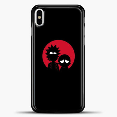 Rick And Morty Red Rick And Morty iPhone X Case, Black Plastic Case | casedilegna.com