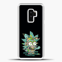 Load image into Gallery viewer, Rick And Morty Trippy Spaceship Samsung Galaxy S9 Plus Case, White Plastic Case | casedilegna.com