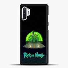 Load image into Gallery viewer, Rick And Morty Ufo Samsung Galaxy Note 10 Plus Case