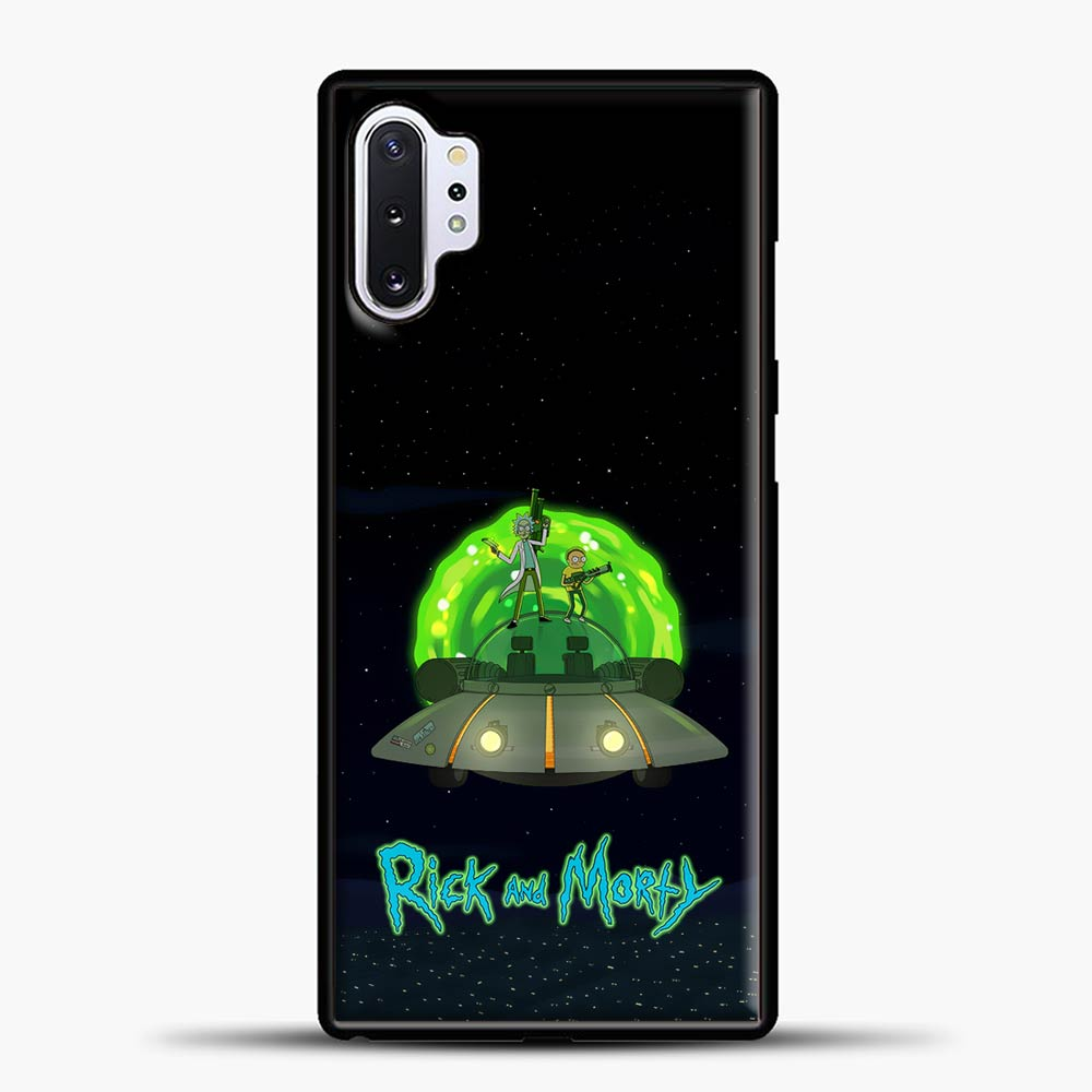 Rick And Morty Ufo Samsung Galaxy Note 10 Plus Case
