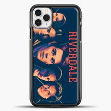 Load image into Gallery viewer, Riverdale Broken Glass iPhone 11 Pro Case, Black Plastic Case | casedilegna.com
