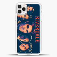 Load image into Gallery viewer, Riverdale Broken Glass iPhone 11 Pro Case, White Plastic Case | casedilegna.com