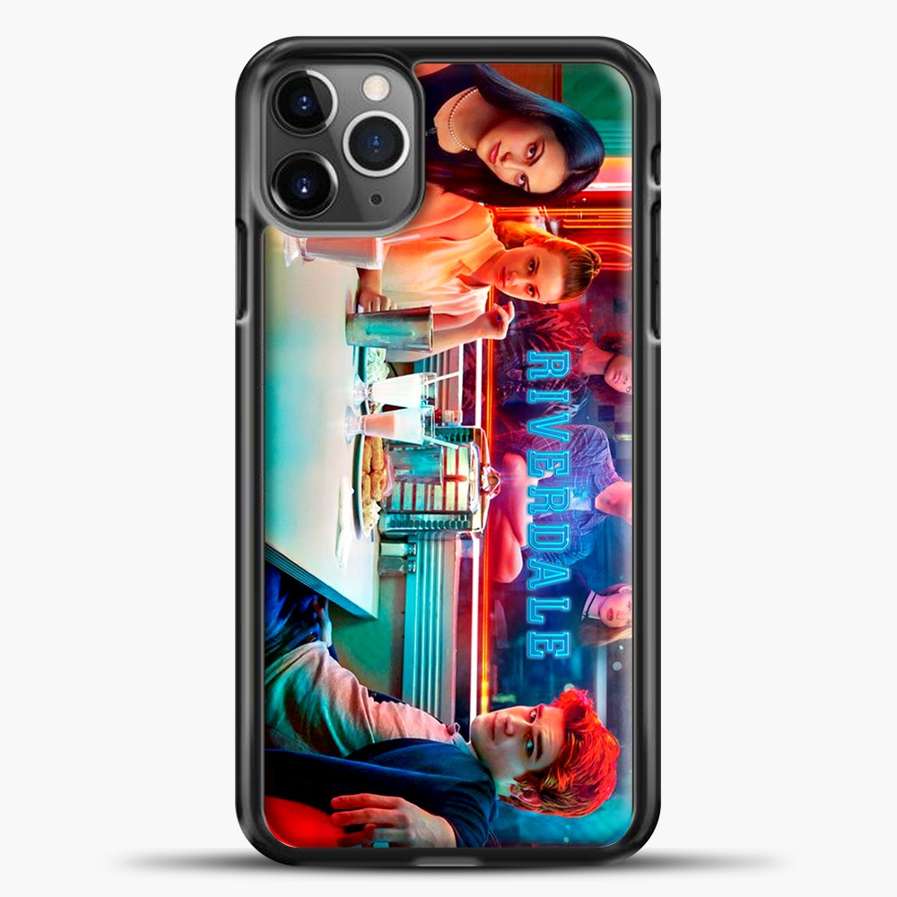 Riverdale Cast iPhone 11 Pro Max Case, Black Plastic Case | casedilegna.com