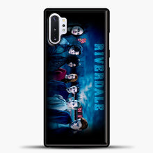 Load image into Gallery viewer, Riverdale Diner Samsung Galaxy Note 10 Plus Case, Black Plastic Case | casedilegna.com