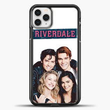 Load image into Gallery viewer, Riverdale Four iPhone 11 Pro Case, Black Plastic Case | casedilegna.com