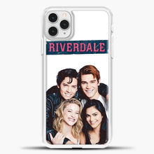 Load image into Gallery viewer, Riverdale Four iPhone 11 Pro Case, White Plastic Case | casedilegna.com