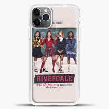 Load image into Gallery viewer, Riverdale Heathers The Musical iPhone 11 Pro Max Case, White Plastic Case | casedilegna.com