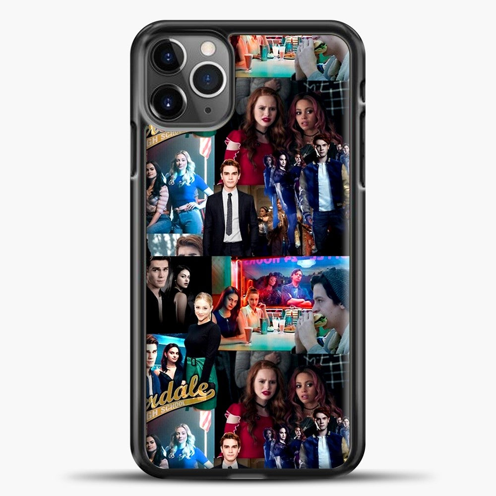 Riverdale Photo iPhone 11 Pro Max Case, Black Plastic Case | casedilegna.com