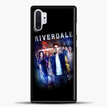 Load image into Gallery viewer, Riverdale Pop's Samsung Galaxy Note 10 Plus Case, Black Plastic Case | casedilegna.com