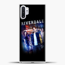 Load image into Gallery viewer, Riverdale Pop's Samsung Galaxy Note 10 Plus Case, White Plastic Case | casedilegna.com