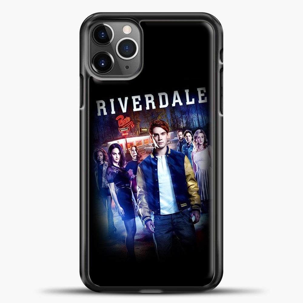 Riverdale Pop's iPhone 11 Pro Max Case, Black Plastic Case | casedilegna.com