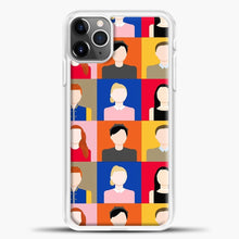 Load image into Gallery viewer, Riverdale Scooby Squad iPhone 11 Pro Max Case, White Plastic Case | casedilegna.com