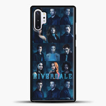 Load image into Gallery viewer, Riverdale Squad Samsung Galaxy Note 10 Plus Case, Black Plastic Case | casedilegna.com