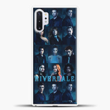 Load image into Gallery viewer, Riverdale Squad Samsung Galaxy Note 10 Plus Case, White Plastic Case | casedilegna.com
