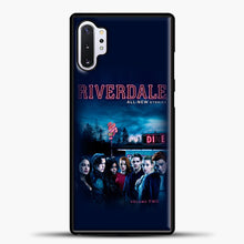 Load image into Gallery viewer, Riverdale Vol. Two Samsung Galaxy Note 10 Plus Case, Black Plastic Case | casedilegna.com