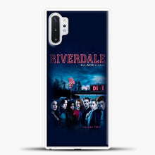 Load image into Gallery viewer, Riverdale Vol. Two Samsung Galaxy Note 10 Plus Case, White Plastic Case | casedilegna.com