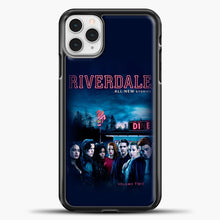 Load image into Gallery viewer, Riverdale Vol. Two iPhone 11 Pro Case, Black Plastic Case | casedilegna.com