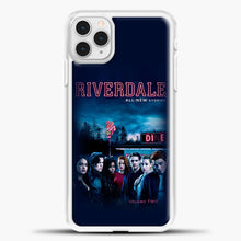 Load image into Gallery viewer, Riverdale Vol. Two iPhone 11 Pro Case, White Plastic Case | casedilegna.com