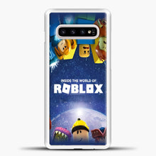 Load image into Gallery viewer, Roblox Inside The World Samsung Galaxy S10e Case