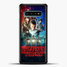Load image into Gallery viewer, Stranger Things And Friend Samsung Galaxy S10e Case, Black Plastic Case | casedilegna.com