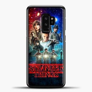Stranger Things And Friend Samsung Galaxy S9 Case, Black Plastic Case | casedilegna.com