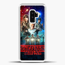Load image into Gallery viewer, Stranger Things And Friend Samsung Galaxy S9 Case, White Plastic Case | casedilegna.com
