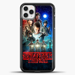 Stranger Things And Friend iPhone 11 Pro Case, Black Plastic Case | casedilegna.com