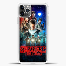 Load image into Gallery viewer, Stranger Things And Friend iPhone 11 Pro Max Case, White Plastic Case | casedilegna.com
