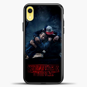 Stranger Things Best Friend Black iPhone XR Case, Black Plastic Case | casedilegna.com