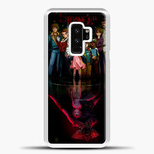 Load image into Gallery viewer, Stranger Things Black Samsung Galaxy S9 Plus Case, White Plastic Case | casedilegna.com