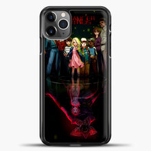 Load image into Gallery viewer, Stranger Things Black iPhone 11 Pro Max Case, Black Plastic Case | casedilegna.com
