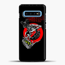 Load image into Gallery viewer, Stranger Things Demogorgon Samsung Galaxy S10 Case, Black Plastic Case | casedilegna.com