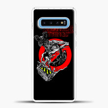 Load image into Gallery viewer, Stranger Things Demogorgon Samsung Galaxy S10 Case, White Plastic Case | casedilegna.com