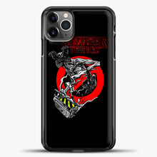 Load image into Gallery viewer, Stranger Things Demogorgon iPhone 11 Pro Max Case, Black Plastic Case | casedilegna.com