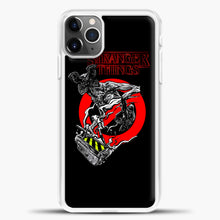 Load image into Gallery viewer, Stranger Things Demogorgon iPhone 11 Pro Max Case, White Plastic Case | casedilegna.com
