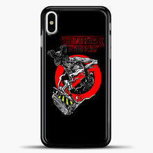 Load image into Gallery viewer, Stranger Things Demogorgon iPhone X Case, Black Plastic Case | casedilegna.com