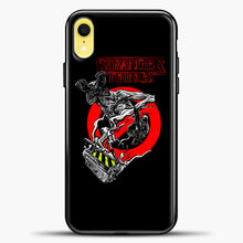 Load image into Gallery viewer, Stranger Things Demogorgon iPhone XR Case, Black Plastic Case | casedilegna.com
