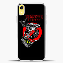 Load image into Gallery viewer, Stranger Things Demogorgon iPhone XR Case, White Plastic Case | casedilegna.com