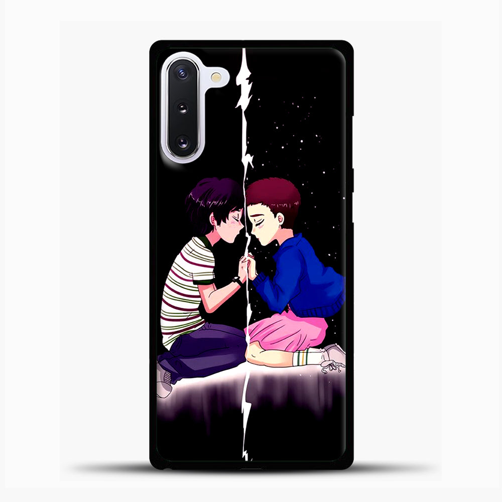 Stranger Things Eleven Black Samsung Galaxy Note 10 Case, Black Plastic Case | casedilegna.com